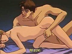 Cute anime gay gets bareback fucked